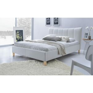 Halmar SANDY bed, color: white