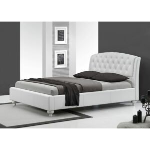 Halmar SOFIA bed color: white