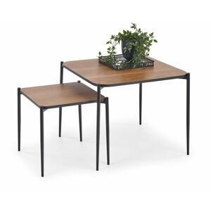 Halmar GUARDIA square set of 2 c. tables
