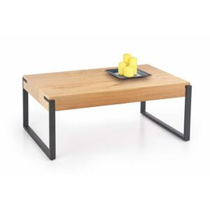 Halmar CAPRI c. table golden oak