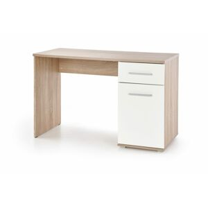 Halmar LIMA B-1 desk, color: white / sonoma oak