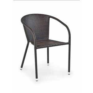 Halmar MIDAS chair color: dark brown