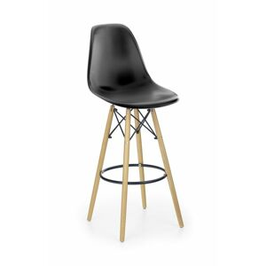 Halmar H51 bar stool color: black