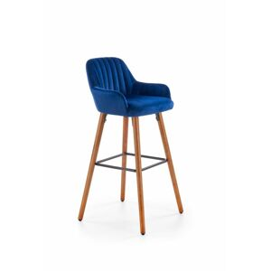 Halmar H93 bar stool, color: dark blue