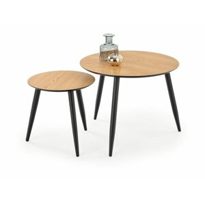 Halmar MENTONA set of two c. tables