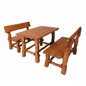 Zahradní set, stůl+2lavice, MO211 dub