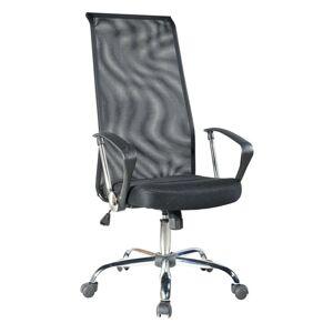 ADK TRADE Černá kancelářská židle ADK Medium se síťovaným opěrákem